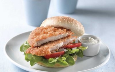 Crispy Chicken Fillet Burgers