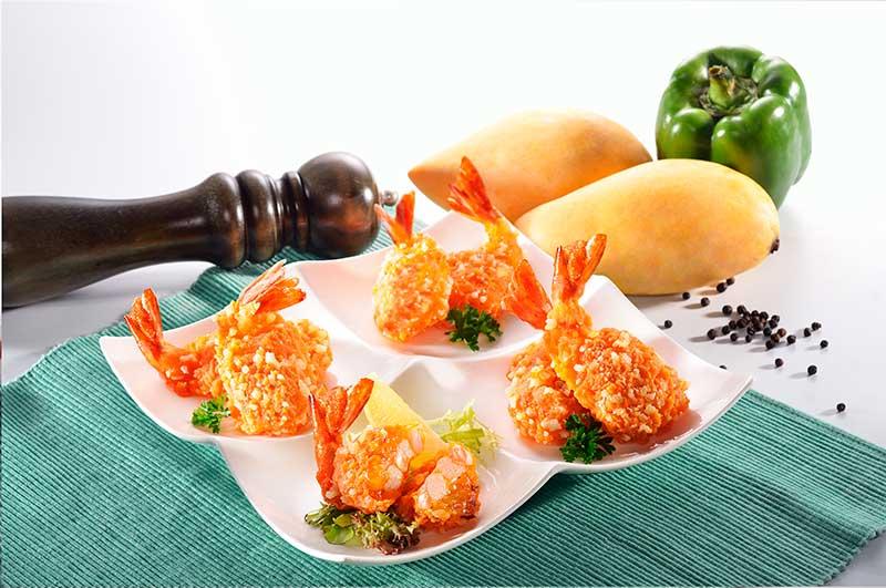 Chilli Mango Prawns